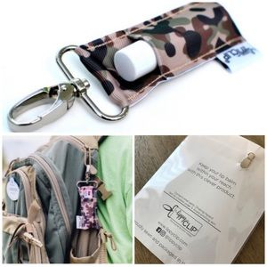 NEW! Camouflage Lippy Clip